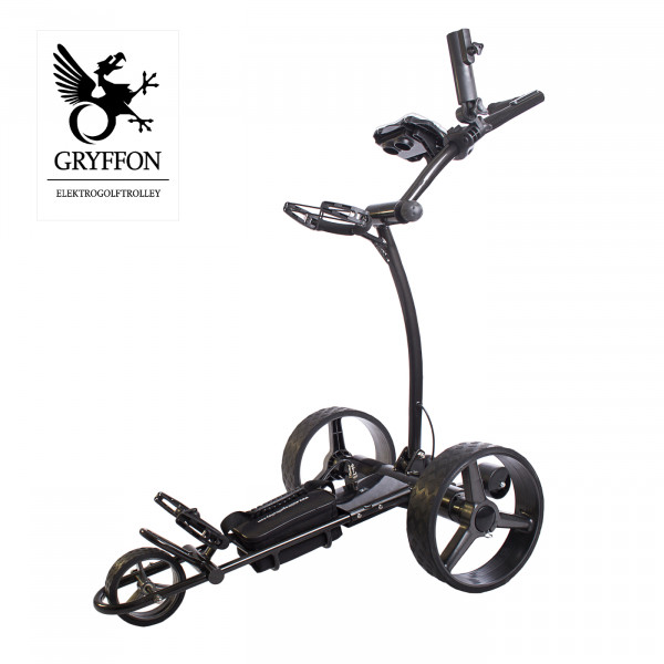 Elektro-Golf-Trolley GRYFFON PROFESSIONAL Ultimate mit Fernbedienung / 24V Lithium