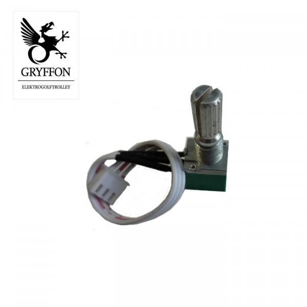 Drehregler für für GRYFFON Professional Steel Edition