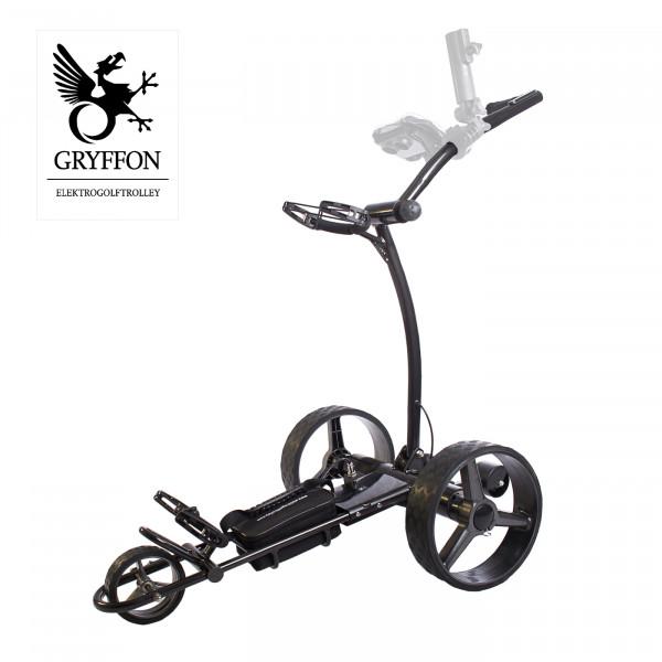 SONDERMODELL Elektro-Golf-Trolley GRYFFON PROFESSIONAL Ultimate mit Fernbedienung / 24V Lithium
