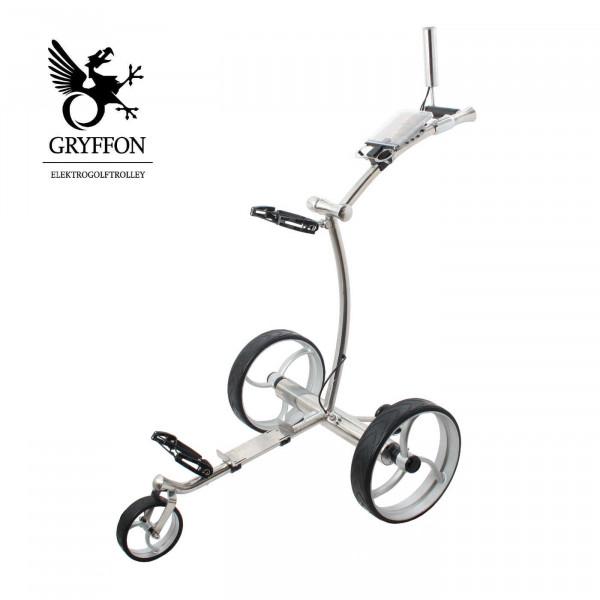 Trolley Edelstahl - Gryffon Steel Edition mit Fernbedienung